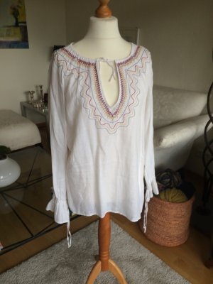 Leinenbluse in Boho Style Gr. L ***TOP***