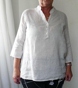 Blusa de lino crema Lino