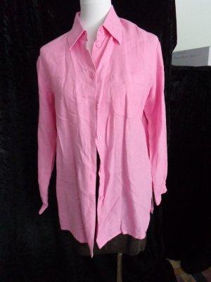 Leinenbluse rosa/pink von Joy in Gr. S 36/38