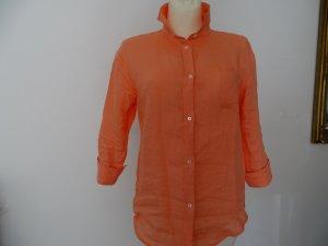 Pennyblack Blusa de lino albaricoque Lino