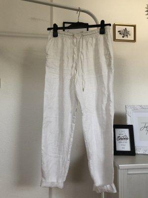 H&M Pantalón de lino multicolor