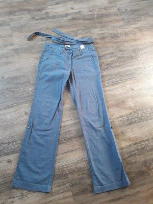 FlashLights Linen Pants slate-gray