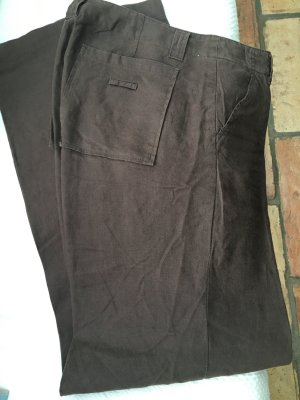 Benetton Linen Pants dark brown