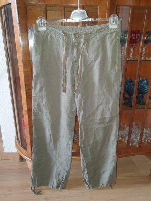 H&M Divided Linen Pants khaki