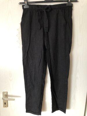 Pantalón de lino negro