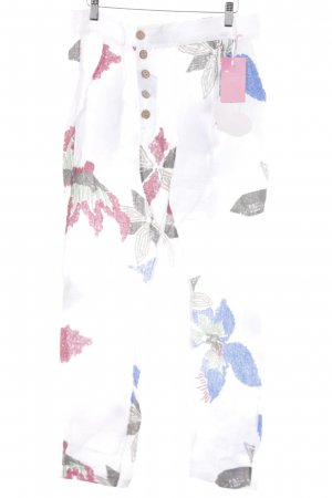 Linen Pants abstract pattern extravagant style