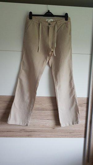 H&M L.O.G.G. Pantalón de lino multicolor