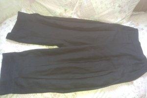 Hebbeding Pantalón de lino negro