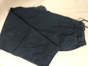 Koton Pantalone di lino blu scuro