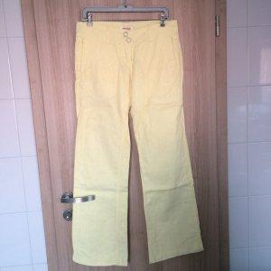 Leinenhose der Marke Kenvelo Farbe: Citrus Größe: S 34