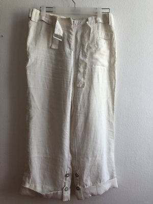 Cambio Linen Pants natural white