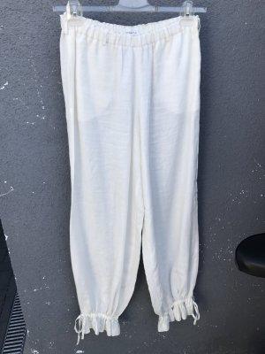 Consequent Pantalón de lino blanco puro