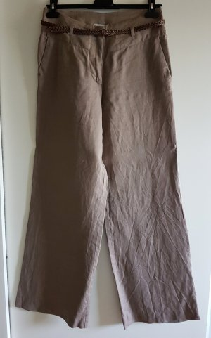 Leinenhose mit Gürtel von H&M