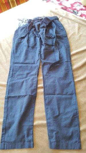 Esmara Pantalón de lino azul