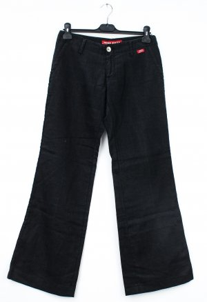 Miss Sixty Linen Pants black linen