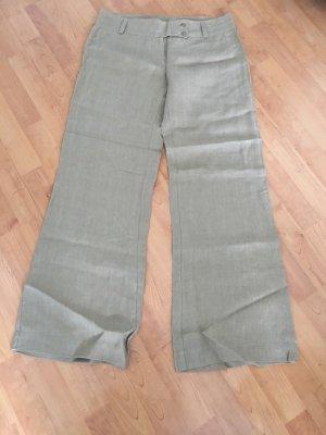 Pantalone di lino color cammello