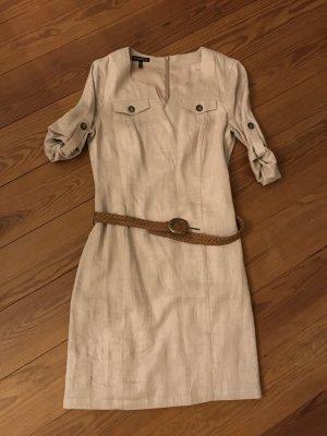 Apart Vestido de camuflaje beige-crema