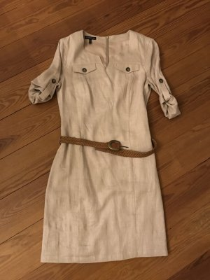 Apart Cargo Dress beige-cream