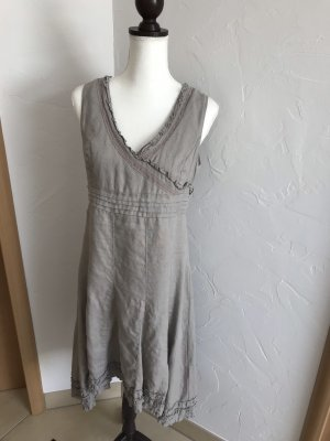 High Low Dress grey brown