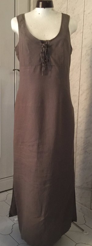 Best Connections Maxi Dress green grey