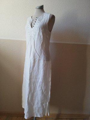 Vestido a media pierna blanco