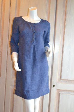 Leinenkleid Marc' O Polo Kleid Leinen blau