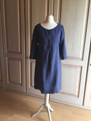 Leinenkleid Marc' O Polo Kleid Leinen blau super Qualität
