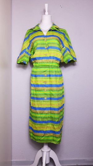 Akris Midi Dress yellow-green