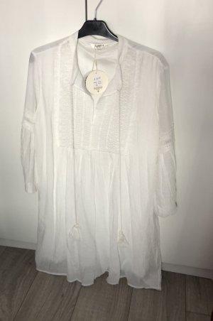 Leinenkleid Sommerkleid Boho Freizeit ZARA Mango