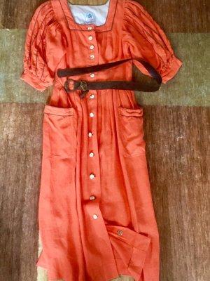 """Leinenkleid - Trachtenkleid für das """"Oktoberfest"""""""