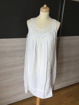 Robe Hippie blanc lin