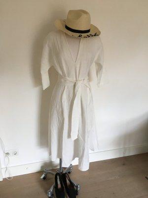Leinenkleid weiß zara