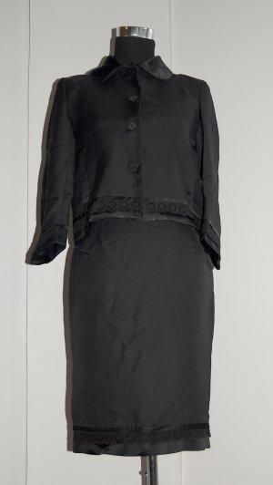 Zara Blazer noir lin
