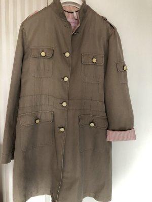 Guy Rover Short Coat grey brown-pink