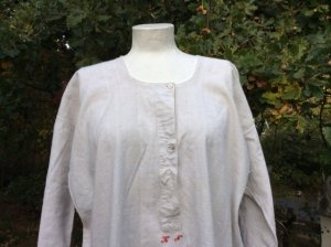 House-Frock natural white-oatmeal