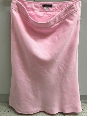 Leinenrock, rosa