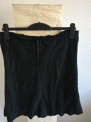 Leinenrock schwarz, Größe 40