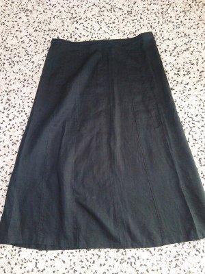 Gerry Weber Asymmetry Skirt black linen