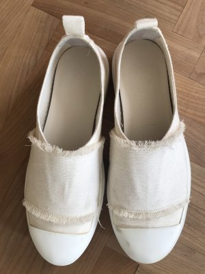 Weekend Max Mara Slip-on Sneakers cream-white