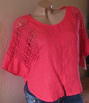 Blusa de lino multicolor Lino