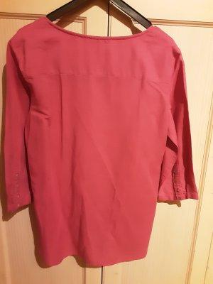esprit collection Tunic Blouse neon pink linen