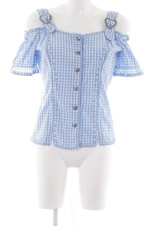 Lekra Folkloristische blouse bloemenprint country stijl
