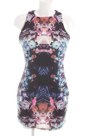 Lely Wood Robe fourreau motif floral élégant