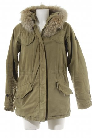 Lempelius Winter Jacket green grey casual look