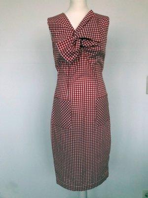 Lena Hoschek Barbeque Dress Gingham rot weiß kariertes Kleid
