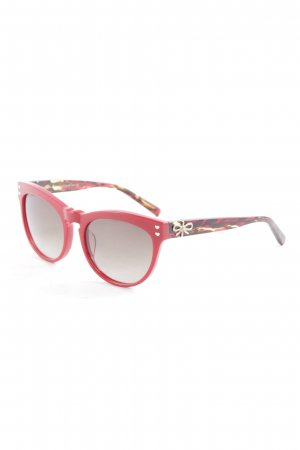 Lena Hoschek Glasses red-brown extravagant style
