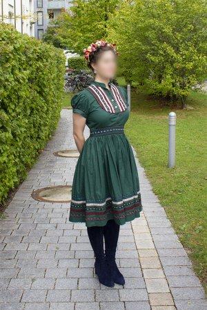 Lena Hoschek Vestido Dirndl multicolor Algodón
