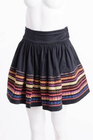 Lena Hoschek Circle Skirt multicolored cotton