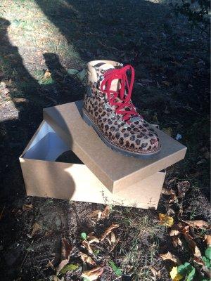 Ammann Desert Boots multicolored fur