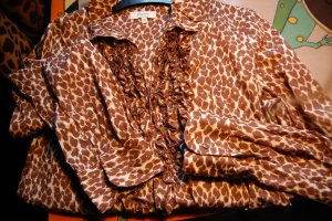 LEO FOREVER  zarte animalprint bluse von FLOWERS for friends